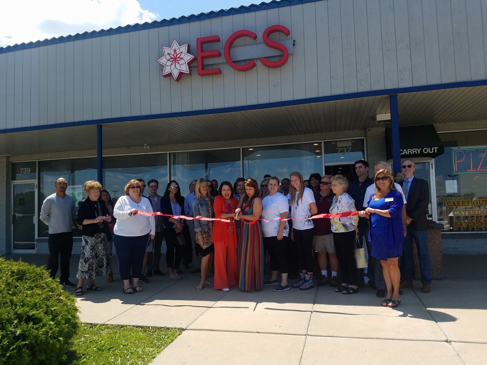 Full Spectrum Services Ribbon Cutting~ West Dundee